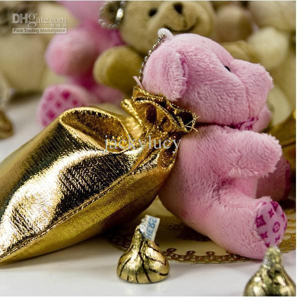 Novità Hi-Q Little Bear Haversack Candy Bag Bomboniere Bomboniere Forniture Gioielli Regali Scatole Scatole Baby Shower Bomboniere spedizione gratuita