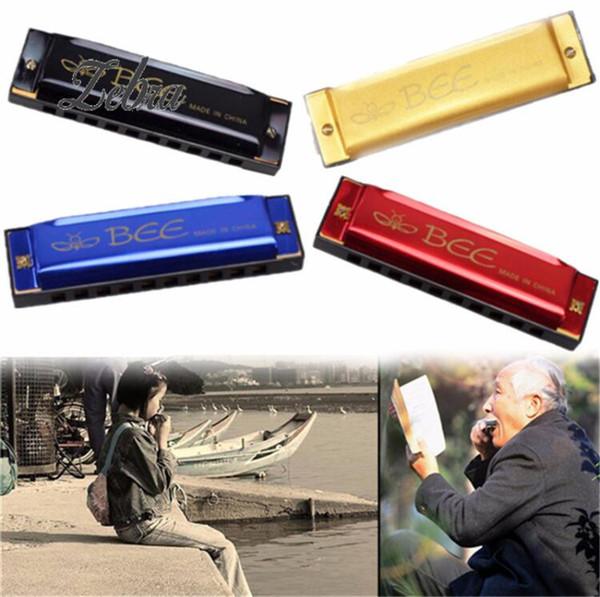 Nuovo Arrivo BEE 10 Fori 40 Tone C Key Armonica a bocca Organo per strumento musicale a fiato di strumenti musicali a fiato