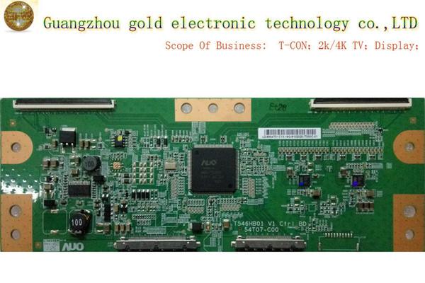 Original AUO logic board T546HB01 V1 54T07-C00 T-CON board CTRL board Flat TV Parts LCD LED TV Parts
