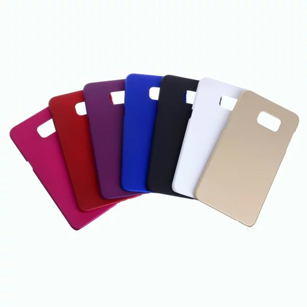 For samsung s8 edge High Quality Phone hard case anti-dirt Super Matte frosted shield Plastic back protector cover For S9
