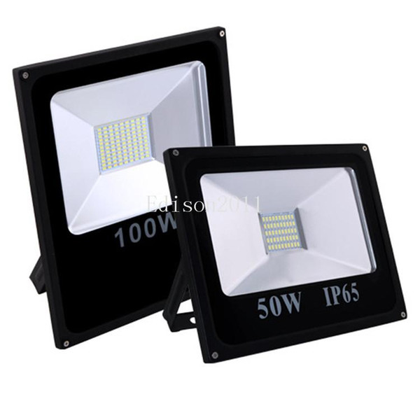 5PCS SMD5730 100W Outdoor Led Floodlights new price Waterproof White IP65 Warm Cool Led Flood Lights AC 85-265V downlight lights