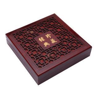 Ücretsiz kargo toptan güzel inci kolye Mücevher Kutuları Ahşap inci kolye kutusu lüks hediye kutusu xl-jdzc