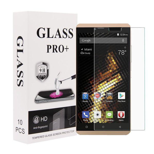 2.5D High Quality 9H HD Clear Tempered Glass Screen Protector for BLU vivo XL glass protective film vivo xl screen protector Wholesale