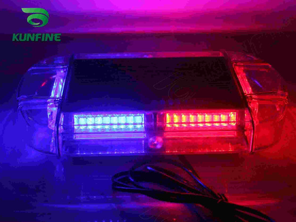 2015 New Hot LED 24 W Car Emergency Fire Warning Polizia Beacon Tow LED Strobe Light bar Impermeabile + 18 Garanzia KF-L3138