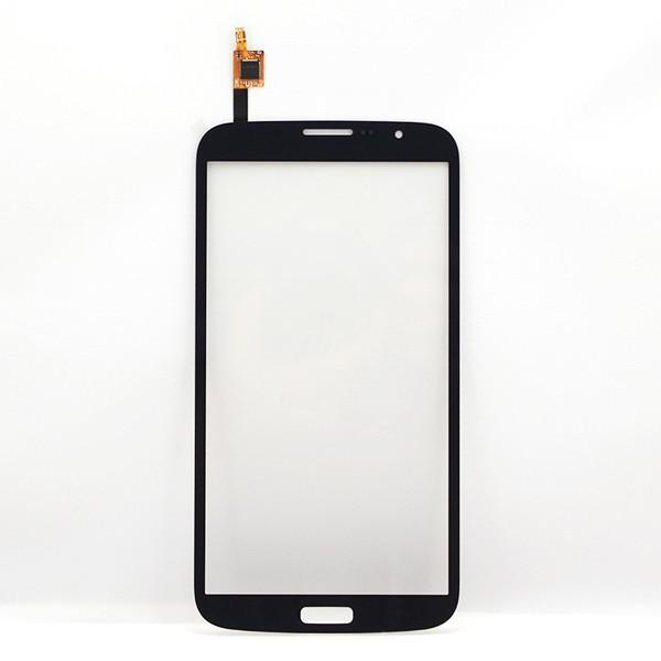 Black Front Glass Lens Touch Screen Digitizer replacement part for Samsung Galaxy Mega 6.3 i9200 Wholesale free shipping+Tracking No.