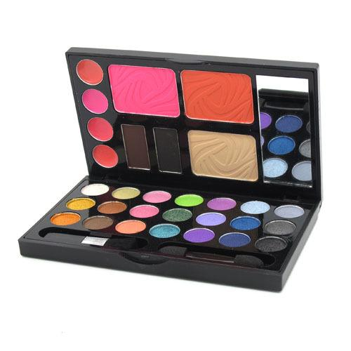 New Makeup Set 21 Colors Eyeshadow 2 colors Brow Powder Blusher Lip Gloss Combo Make Up Kit Palette with mirror freeshipping