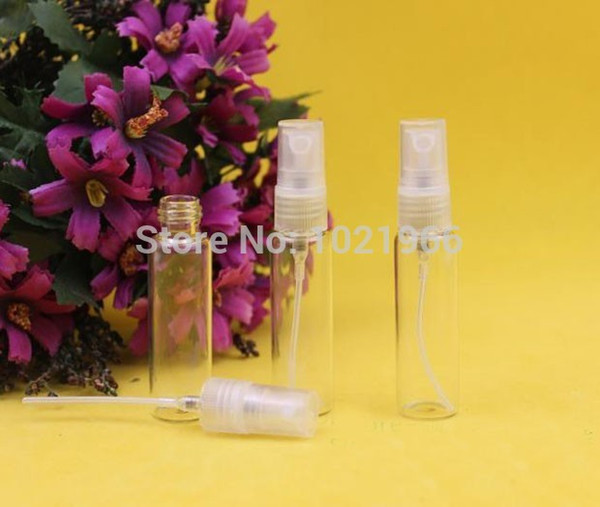 5ml Glass perfume Bottles, Spray Glass ,essential oil use,cosmetic packing top quality