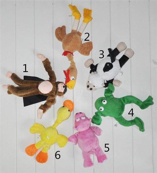 Plush Toys Lot Fashion Children Cute Animal Model and Slingshot Monkey Toys Hot Kids Soft and Safety Refer Set Flying Monkey Stuffed Animals