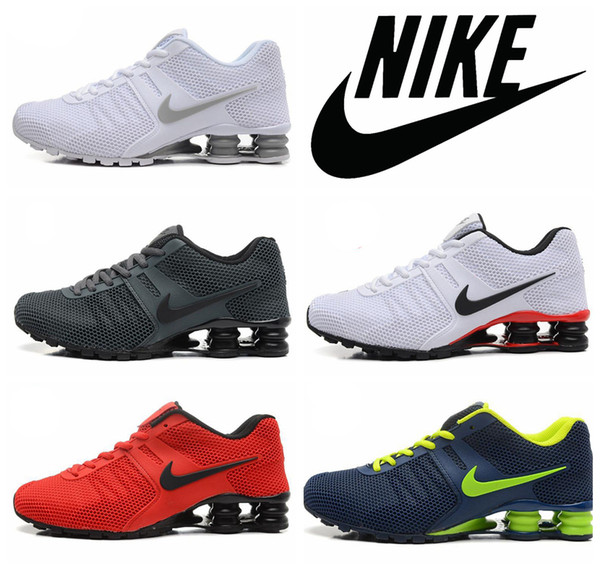Nike Shox 87 Turbo Kpu Men Running Shoes,Wholesale Mens Nike Air Shox Nz,R4,R2 Current Fashion Sport Sneakers Size 41 46 Sneakers Sale Womens Running