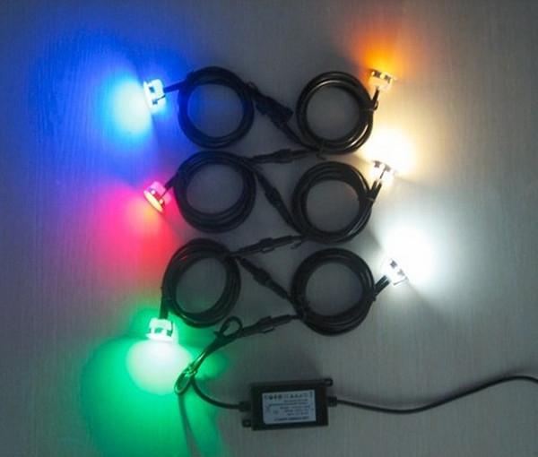 Теплый белый холодный белый светодиодный торшер подземные светильники IP67 для наружного освещения DC12V светодиодный свет палубы садовые светильники завод прямых продаж