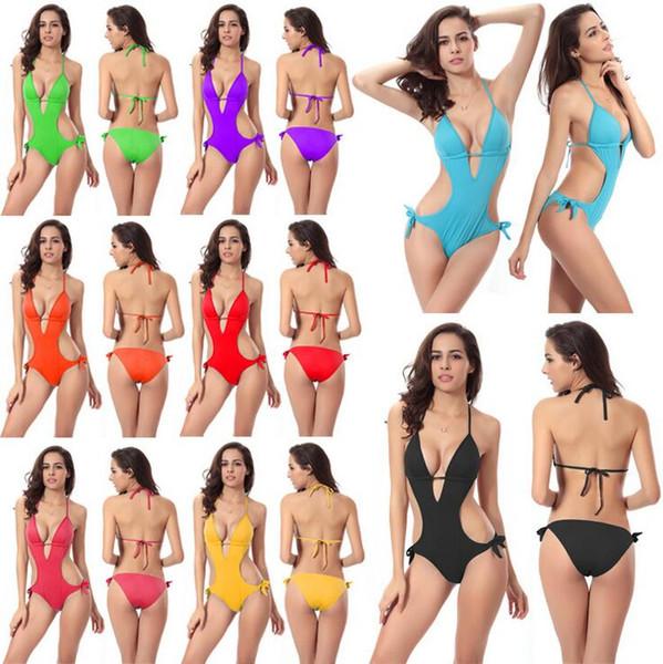 Sexy Women Swimsuits Bikinis Beach Swim Dresses For Women Plus Size One Piece Swimwears Swimming Wear Women Bathing Suit 0021SC