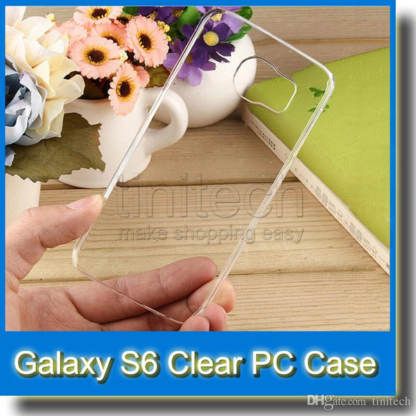 Slim Transparent Clear Hard PC Shell Cover Case for iPhone 5 5S 4 4S iPhone 6 4.7 5.5 inch Samsung Galaxy S6 S5 S4 LG G3 HTC M8