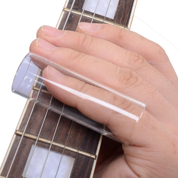 top popular 10pcs lot Glass Slide Guitar Accessories Guitar Finger Sliders Length 69mm 22mm Inside MU0450-3 2019