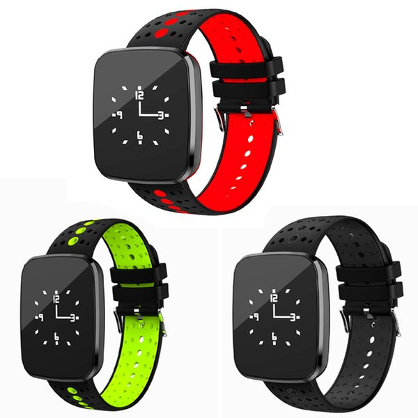 V6 Смарт Wacth Bluetooth 4.0 LED Монитор Сердечного ритма Фитнес-Трекер Браслет Смарт Спортивные Наручные Часы Браслет Спортивные Часы для ios Android