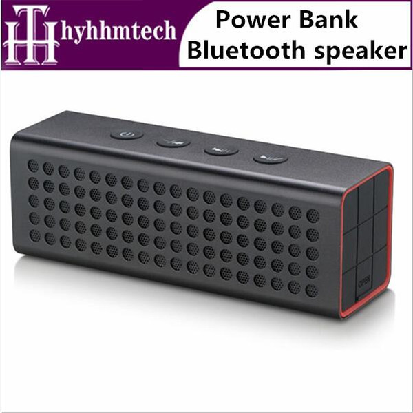 2019 3D Surround Sound Mini Portable Bluetooth Speakers Big Power 4400mAh Professional Wireless TF USB Bank Speaker AJ 91 From Hyhhmtech