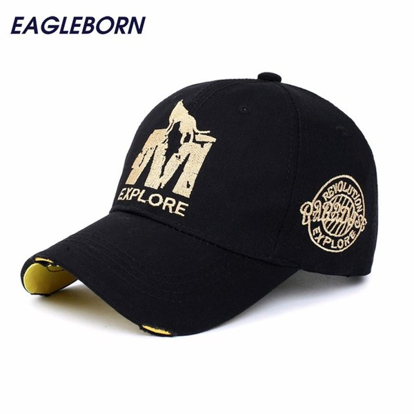 wholsale brand baseball 56-60cm adjustable Casual gorras 6 panel hip hop snapback hats wolf cap for men women unisex