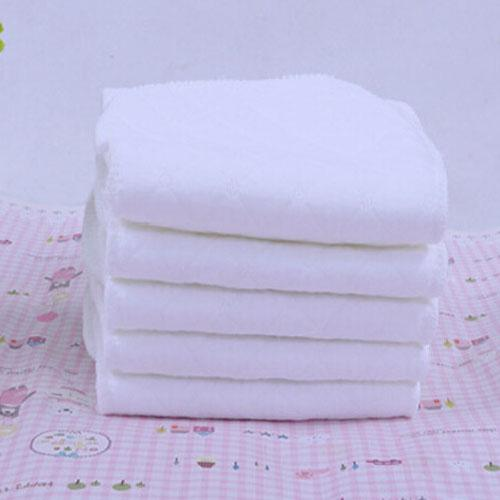 2016 Winter Prefold Diapers 6 Layers Cotton Microfiber Ecological Washable Nappies Reusable Diaper Inserts Peanut 42x16cm 5pcs/lot