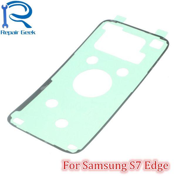 Cubierta de la batería del OEM Pegamento adhesivo de la puerta trasera para Samsung Galaxy S2 S3 S4 S5 S6 S6 Edge Reemplazo de piezas adhesivas para la nota 2 3 Nota 4