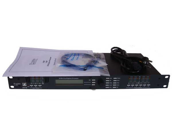 Major Sound System For Stage Performance 3 6SP Processor Loudspeaker  Management System 3 Input 6 Output Digital Audio Processor DHL Free Shi Pc  Multi