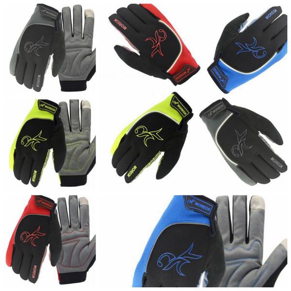 Radfahren Handschuhe Warm autsch bildschirm Handschuhe wasserdicht Fahrrad Reiten Gym Finger Handschuhe Outdoor Sport Handschuhe KKA3258