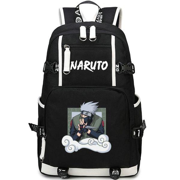 Compre Hatake Kakashi Mochila Naruto Luta Saco De Escola Ninja Dos Desenhos Animados Mochila Anime Mochila Mochila Ao Ar Livre Pacote De Dia De