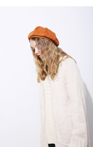 Beret Three Color Wool Female Winter Berets Painter Hat Beret Hat Small Fresh Female Fashion Fall French Hats