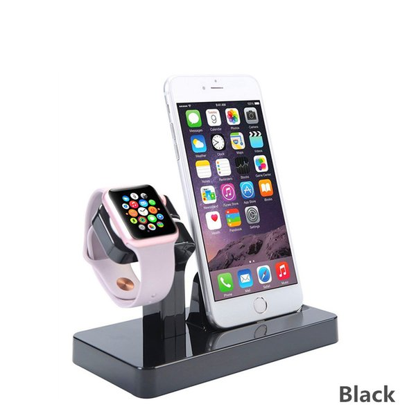 2019 For IWatch And IPhone 2 In 1 Fast Charging Stand Bracket Docking  Station Suit For Office Car Home Desktop Storage Mobile Phone Cradle Holder  From