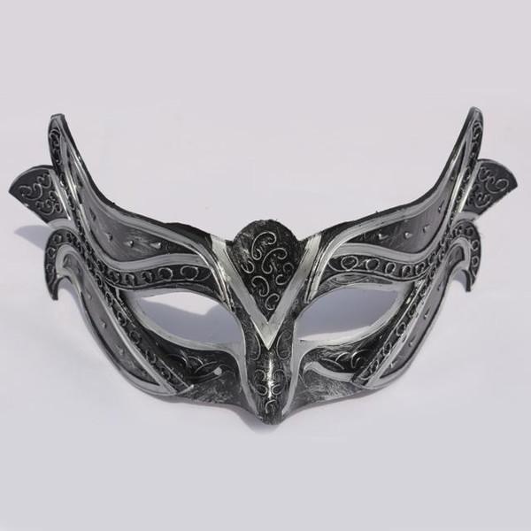 Artesanato Itália Veneza Máscara Princesa Masquerade Partido Mulheres Dança Máscara de Desempenho Cosplay Decoração Bauta Máscara Do Vintage SD382
