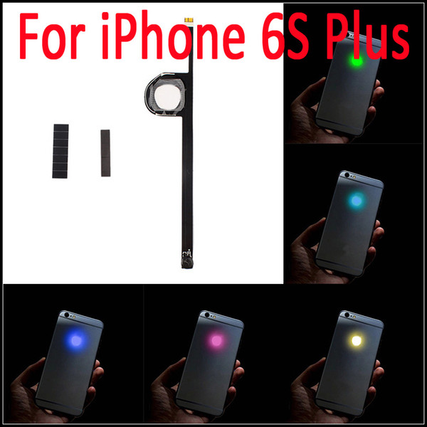 Luminescent Glowing LED Light Up Transparent Logo Mod Panel Kit Back Cover For iphone 6S Plus 5.5 inch Free Shipping
