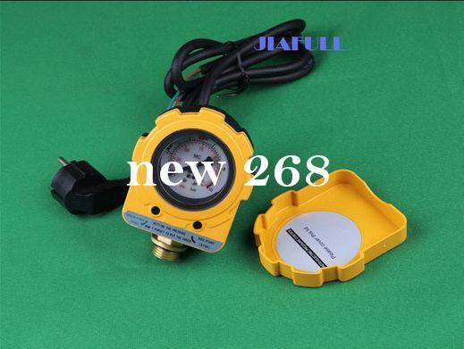 """EU plug pressure switch for water pump 10 bars.G4"""" Screw mounting electric switch"""
