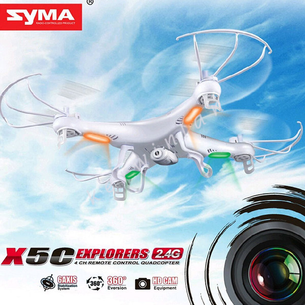 New Version 360°Syma X5C-1 X5C RC Quadcopter Explorers 2.4Ghz 4CH 6-Axis Gyro 2GB TF Card with 2MP HD Camera RTF