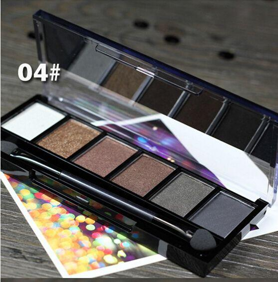 6 Colors Eyeshadow Palette Glamorous Smokey Eye Shadow Makeup Make up Kit