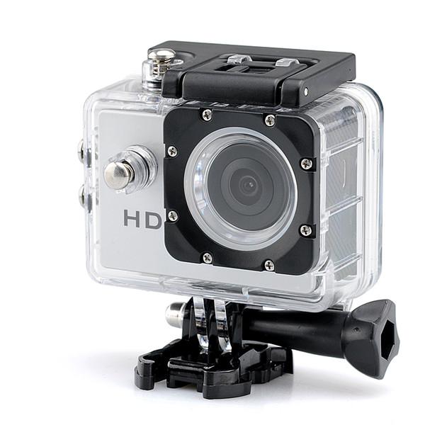 best selling Hot selling 1080p HD Sport Camera - 2.0 Megapixels CMOS Sensor 140 Degree Lens Angle 30 Meter Waterproof Range Free shipping