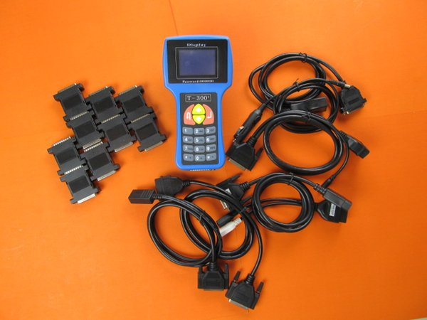 Newest V15.8 T-Code T-300 T300 Key Programmer For Multi-Cars T 300 Auto Transponder Key By Read ECU-IMMO Spanish&English