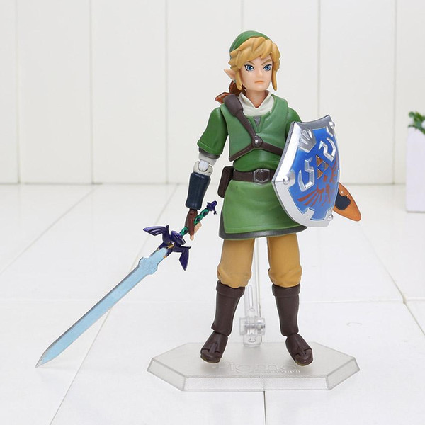 figma 153 the legend of zelda link PVC action figures boys toys model doll toy collection birthday gifts with box