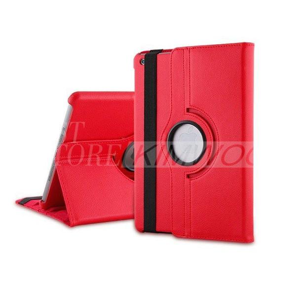 360 Degree Rotary PU Leather Smart Cover Case Stand Intelligent Sleep Cases For Ipad Air Ipad 4/3/2 Ipad Mini