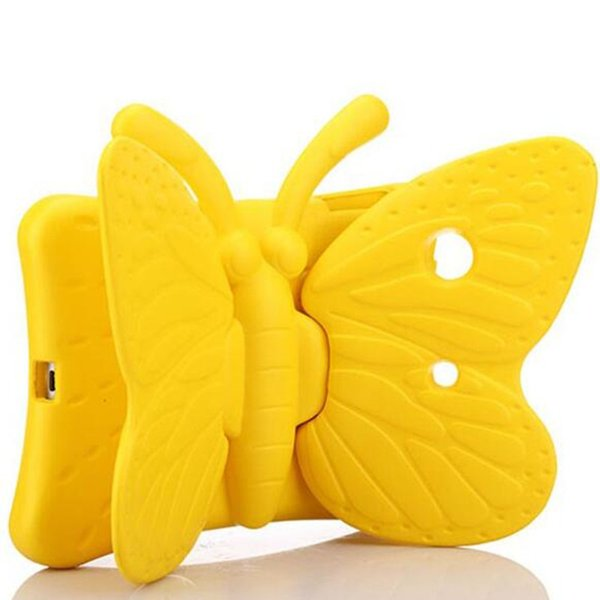 3D Cute Tablet Protector Case For iPad Mini 1 2 3 4 Anti dropping Shell Children Butterfly Shockproof Soft EVA Stand Pad GSZ405