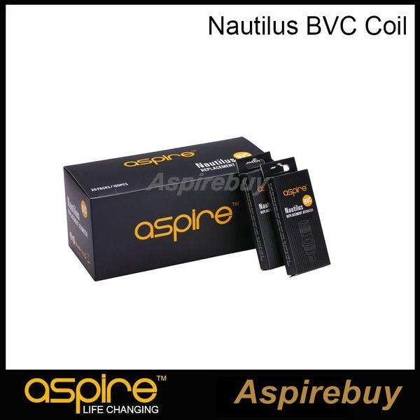 top popular Aspire Nautilus BVC Coil Head High Quality Nautilus Atomizer Coil For Nautilus Mini 2 Atomizer Clearomizer 100% Authentic 2021