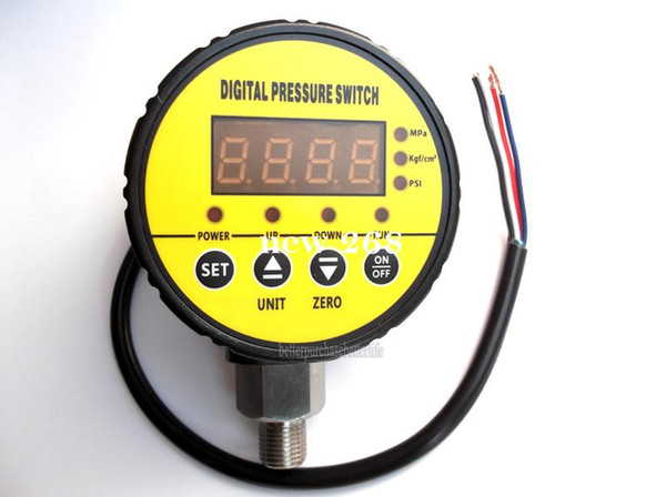 top popular Free Shipping 16bar(232psi) 240V G1 4 Digital Pressure Switch for Air Compressor Water System 2021