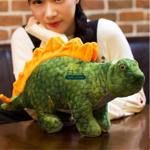 70cm Green Triceratops