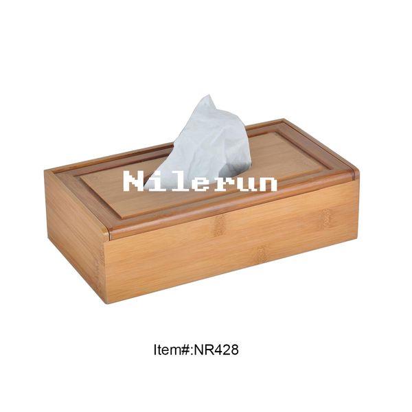 bamboo tissue box bamboo tissue case bamboo tissue holder