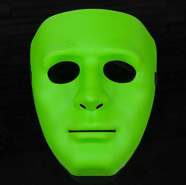 Hot Festival Mask Bboy máscara de hiphop Máscaras de fiesta de Halloween JabbaWo Máscara Niñas niños hombres mujeres partido costome pure 8 máscara de color EMS 80pcs