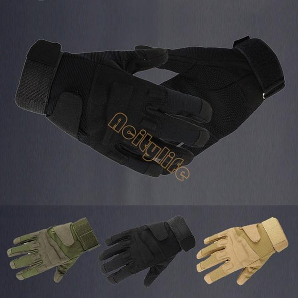 best selling High Quality Motorcycle Tactical Gloves Army Full Finger Airsoft Tactical Combat Gloves 18