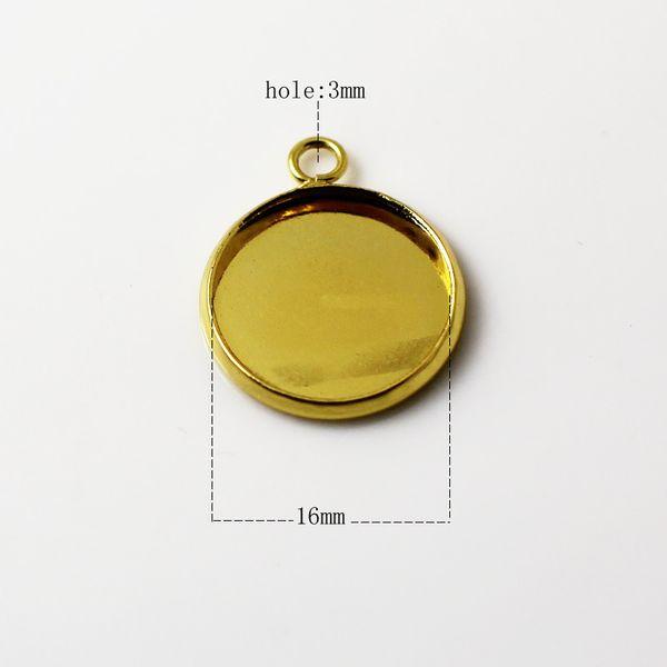 16mm altın kaplama