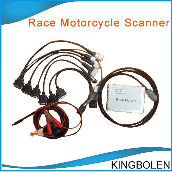 Motocicleta de corrida scanner 6 em 1 ferramenta de diagnóstico de motocicleta para YAMAHA, SYM, KYMCO, SUZUKI, HTF, PGO 6 em 1 Motocicleta Scanner frete grátis