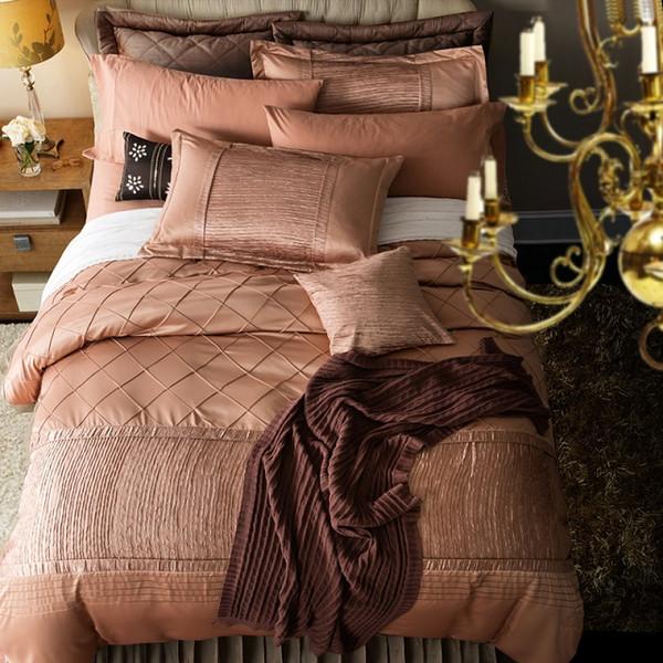 Luxury silk bedding set quilt doona duvet cover bedspreads bed sheets spread full queen king size double designer linen bedsheet