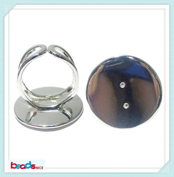 Beadsnice fashion jewelry ring base perfect for cabochons base inside diameter 16mm brass nickel free lead free ID8130