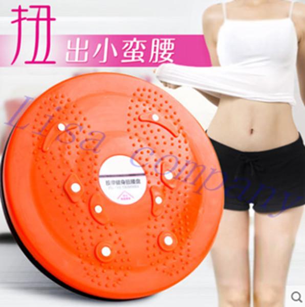 Al por mayor-ENNJOI Twisting Plate Twist Board Large Cintura Disc Thin Waist Fitness Equipment Twist Board Reducir Peso Balance disco placa