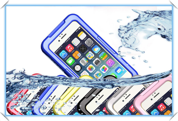 Waterproof Dirt Snow Shock Water Proof Shockproof Case For iphone6 4 4S 5 5S Samsung s3 s4 s5 note4 9300 9500 Case 200pcs