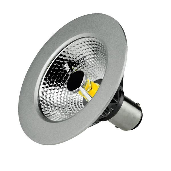 1pcs/lot 7W AR70 SCOB LED Spotlight B15 Base Dimmable AC220-240V Home/Commercial Lighting BA15D AR70 Bulb Lamps LED Spotlights